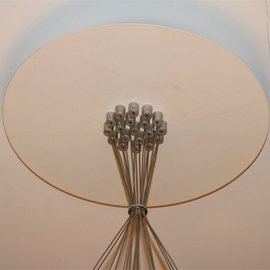 European Hotel Decorative Clear Glass Round Pendant Lamp pictures & photos
