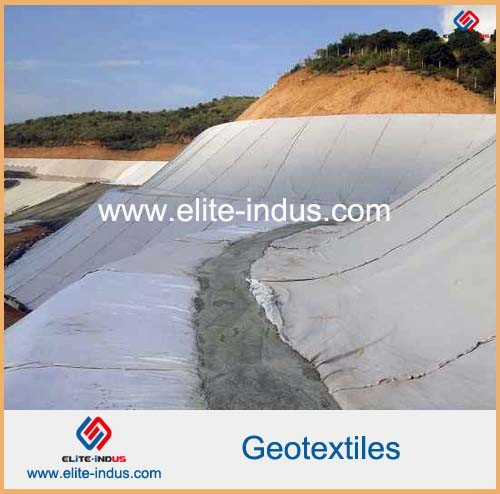 Short Fiber Polyester PP Woven Nonwoven Geotextiles pictures & photos