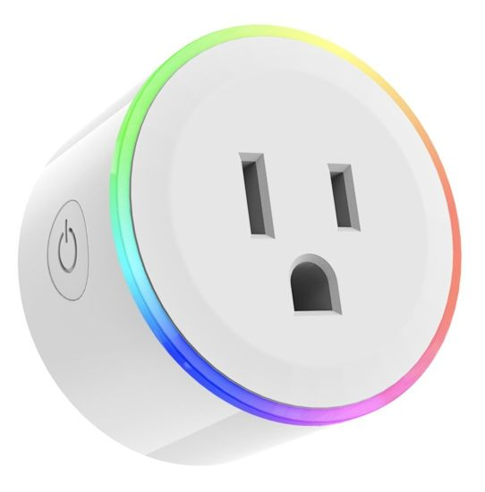 China Mini Smart Plug Outlet Work with Amazon Alexa Google