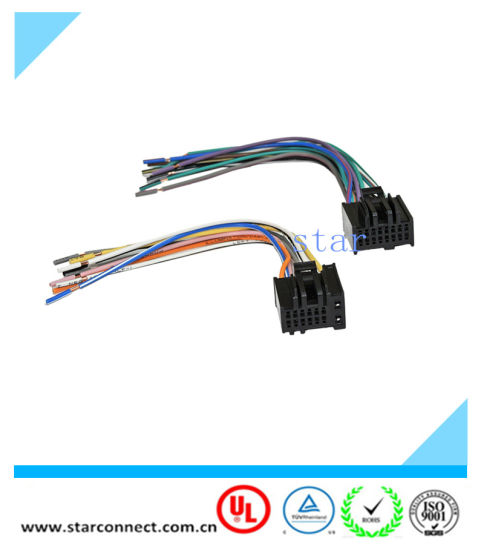 china car radio stereo wire wiring harness to factory radio for 2005 Ford Car Stereo Wiring Harness car radio stereo wire wiring harness to factory radio for 2005 2016 chevrolet