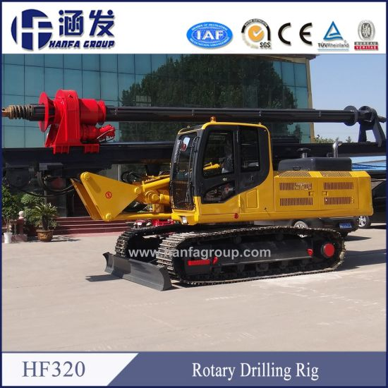 China Hf320 Used Pile Driver Construction Machinery for Sale