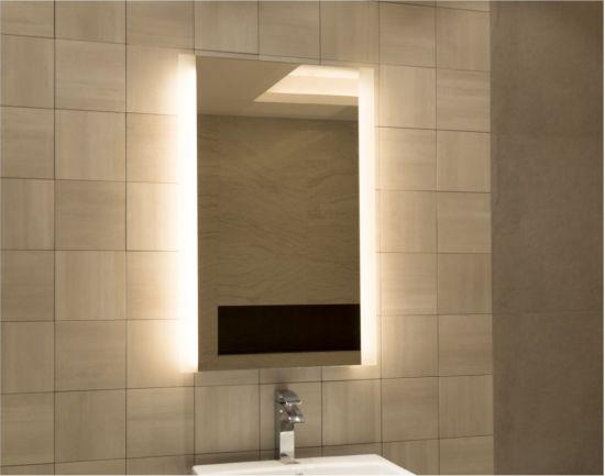 Smart And Beauty Custom Sized Hotel Bathroom Led Lighted Wall Mirror