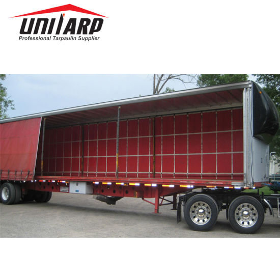 PVC Tarpaulin Trailer Truck Container Cover Side Curtains