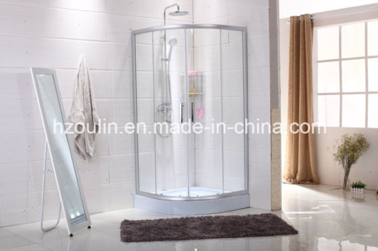 Simple Shower Room Enclosure with Clear Glass (E-01 with clear glass) pictures & photos