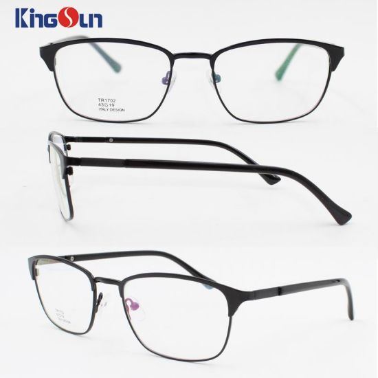 21243039d08 Elegant PC and Metal Combine Fashion Optical Frame in 2017 Model Kf1170  pictures   photos
