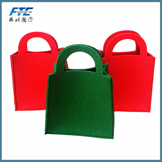 wholesale cheap price non woven felt christmas for gift bag