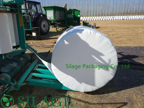 500mm*1800m Blown White Color Silage Foil pictures & photos