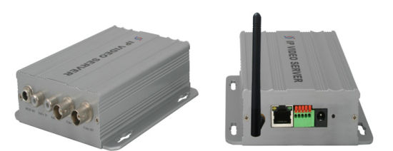 H. 264 Sony CCD WiFi IP Video Server (IP--01HW)