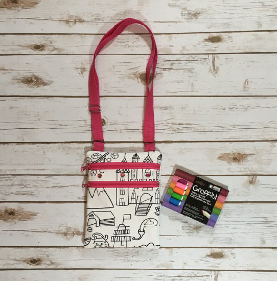 """Colour Me in"" Girls Bag, Small Fashion Bag pictures & photos"