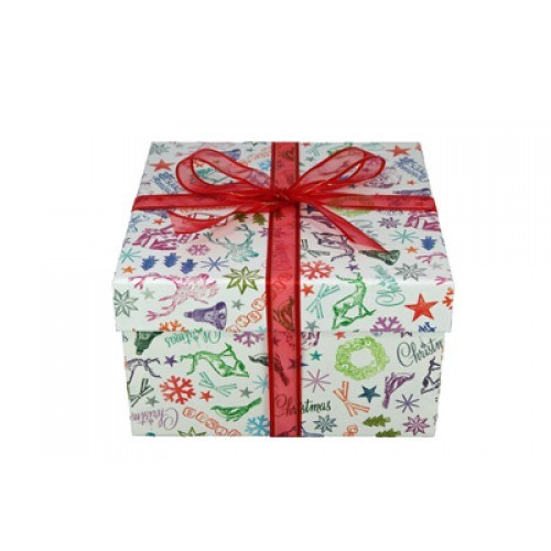 Larger Paper Gift Boxes for Christmas