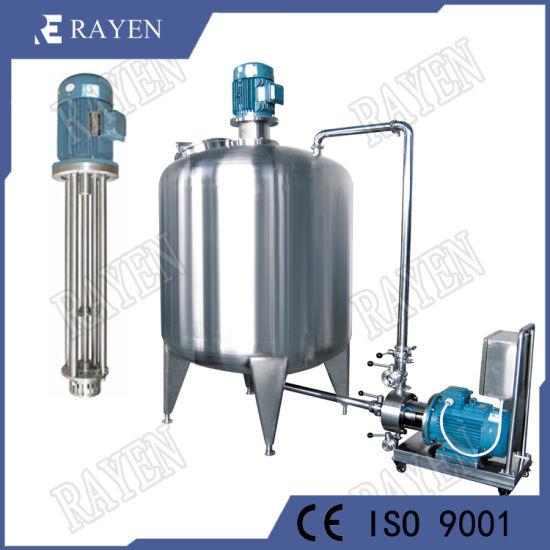China Food Grade Stainless Steel Homogenizer Types High Shear