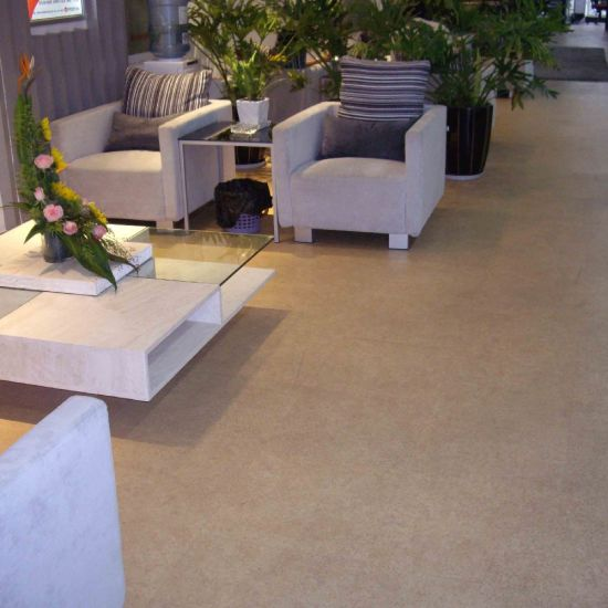 Solid Color Vinyl Flooring For Commercial Use
