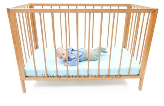 Environmentally Friendly High Quality Pinewood Baby Crib