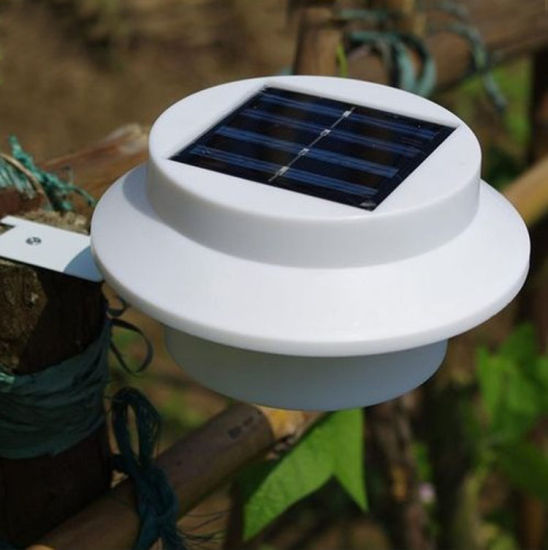 Garden Solar Fence Light Led Gutter Pictures Photos