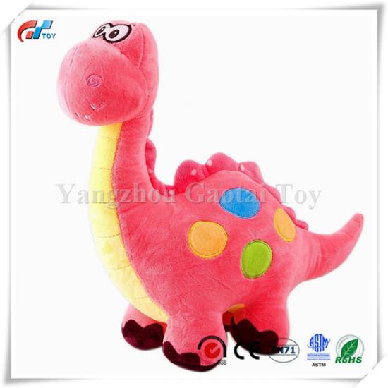 China 14 Pink Stuffed Dinosaur Plush Toy Plush Dinosaur Stuffed