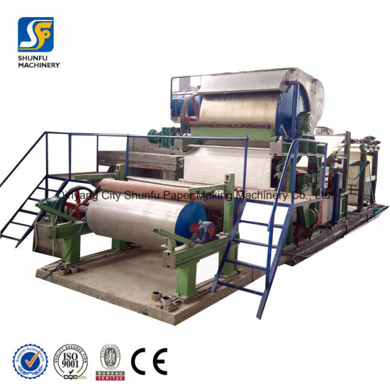 Jumbo Roll Toilet/Tissue Paper Machine From Shunfu Machinery Excellent Manufacturer