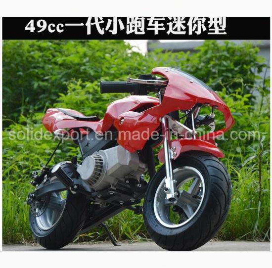 49cc 2-Stroke Mini Bike/49cc Pocket Bike/Cheap Mini Motorcycle