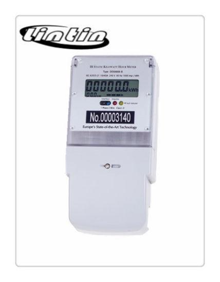 China Ir Static Kilowatt Hour Meter Electronic Meter Energy Meter China Kwh Meter Electronic Energy Meter