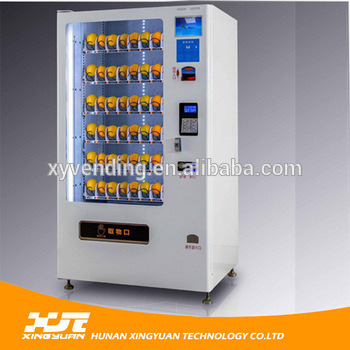 Salad/Fruit/Vegetable Vending Machine with Elevator /Cooling System pictures & photos