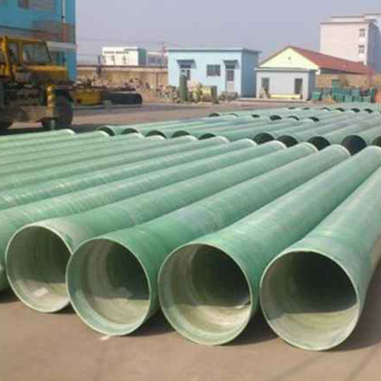China UV Coated Epoxy Resin Durable FRP Pipe for Water