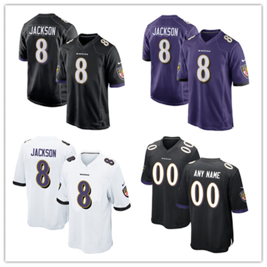 info for 978e7 b152a China Men Women Youth Ravens Jerseys 8 Lamar Jackson ...