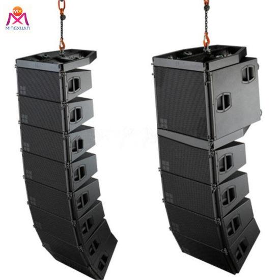 High Quality Dual 10inch PA Syatem Line Array Speaker