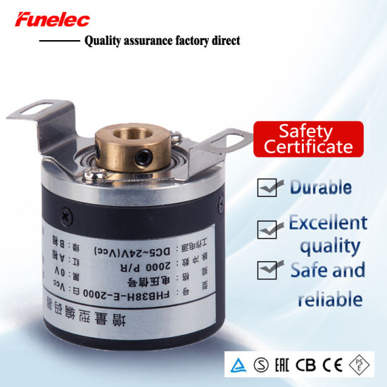 Diameter 38mm Increamental Rotary Encoder with 6mm Shaft pictures & photos