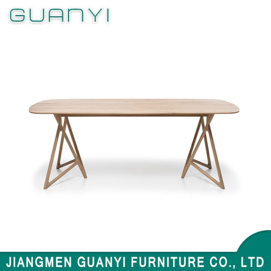 2019 Fashion Rectangle Wooden Dining Sets Restaurant Table pictures & photos