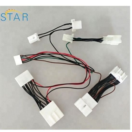 custom auto radio wire harness for toyota pictures & photos
