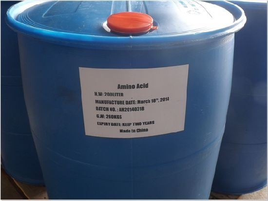 Amino Acid Liquid Pure Organic Fertilizer High Nitrogen Liquid Amino Acid pictures & photos