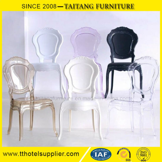 Classical Transparent Clear Belle Epoque Chair for Events pictures & photos