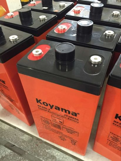 Koyama 2V 200ah Stationary Storage Battery for Solar System pictures & photos