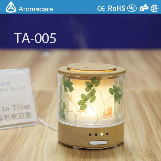 New Model LED Lamp Reed Diffuser Glass Bottle (TA-005) pictures & photos
