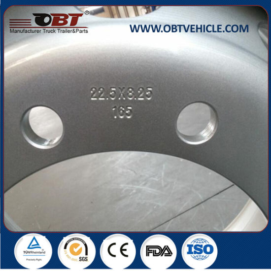 High Performance Stainless Steel Truck Wheel 17.5 19.5 22.5 24.5 pictures & photos