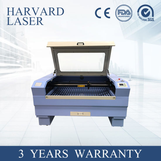 CNC CO2 Laser Cutting and Engraving Machine for Computer Embroidery