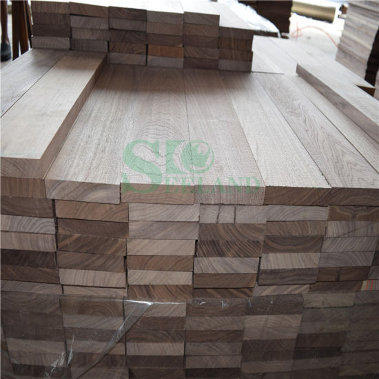 American Walnut Raw Flooring for Solid Floor pictures & photos