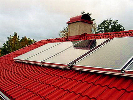 Flat Solar Water Heater Collector