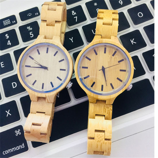 Ladies Luxury Wooden Watch All Wooden Strap Japan Miyota Movement Fashion Analog Quartz Watch Relogio Masculino -V183 pictures & photos