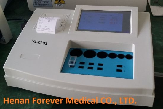 Medical Hospital 2 Channels Veterinary Blood Coagulation pictures & photos