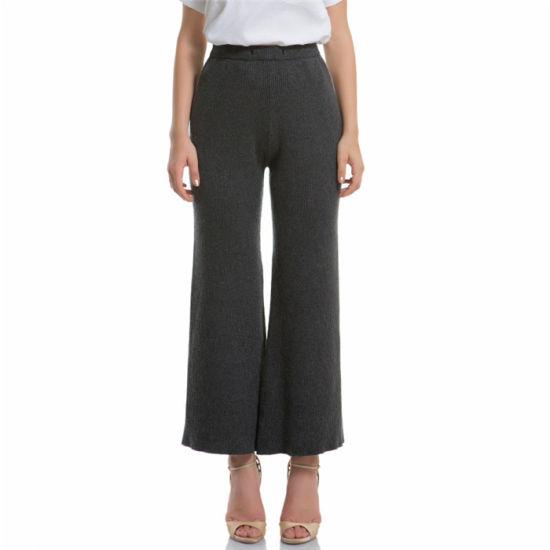 Women's Cashmere Pants, Knitting Pants Trousers