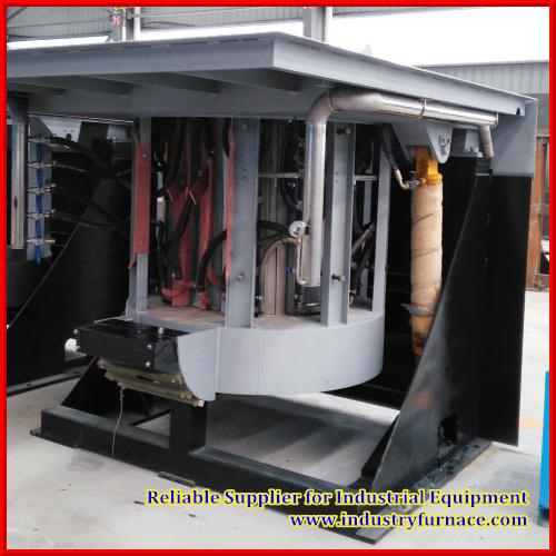Induction Furnace, Hydraulic Tilting Furnace
