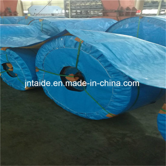 DIN22131 Flame Resistant and Anti-Static General Use Steel Cord Conveyor Belt pictures & photos