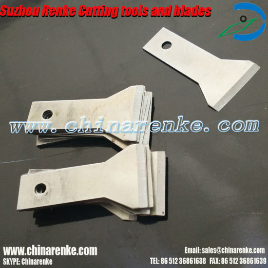 High Quality Tungsten Carbide Blades for Rubber Cutting pictures & photos