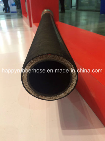 SAE100 R15 Six Steel Wire Spiraled High Pressure Hydraulic Hose/Oil Tube/Rubber Pipe pictures & photos