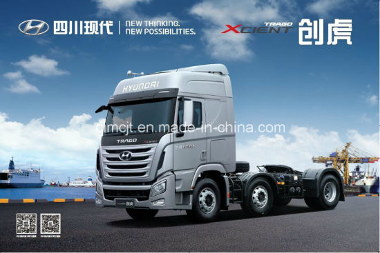 Hyundai Tractor Truck 6X2 410HP pictures & photos