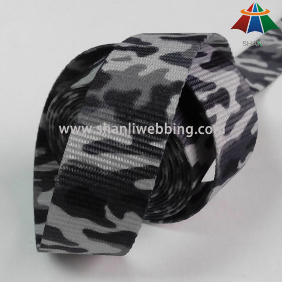 Hot Sale 1 Inch Sublimation Printing Camo Webbing