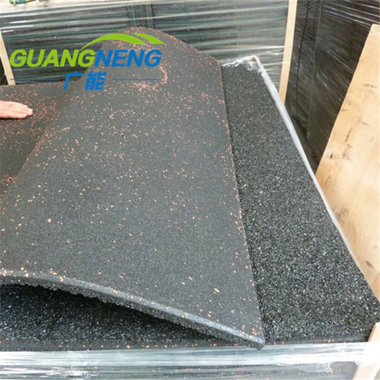 Various Colored Heavy Duty Rubber Flooring for Gym and Garage pictures & photos