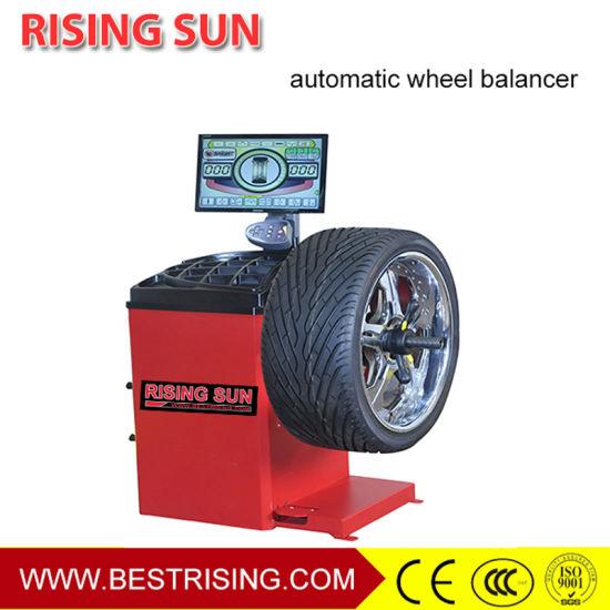 Auto Wheel Balancing Machine Car Workshop Equipment with Ce