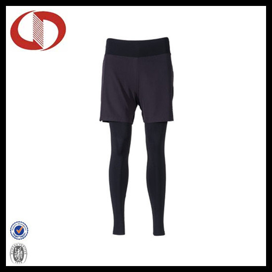 Wholesale Quick Dry Bulk Compression Running Pants for Men pictures & photos
