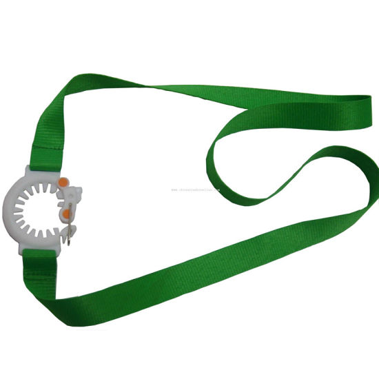 Customized Sublimation Printed Holder Lanyard Hanger Hot Sales Heat Transfer pictures & photos
